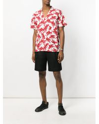 Christian Pellizzari - Red St Leone Of Venice Printed Shirt for Men - Lyst