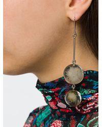 Marni - Metallic Dandelion Earrings - Lyst