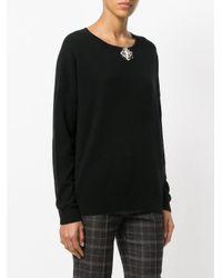 Dorothee Schumacher - Black Embellished Sweatshirt - Lyst