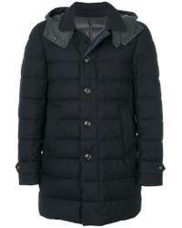 Moncler - Blue Nicloux Coat for Men - Lyst