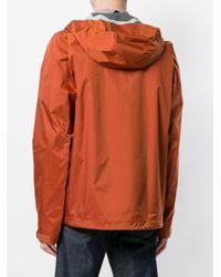 Patagonia - Orange Hooded Windbreaker for Men - Lyst