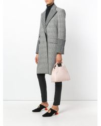Lanvin - Pink Cabas Tote - Lyst