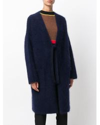 P.A.R.O.S.H. - Blue Langy Coat - Lyst