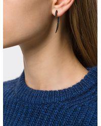 Shaun Leane | Metallic Black Spinel Hook Earring | Lyst