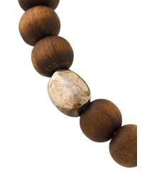 Rosa Maria - Brown Beads & Charm Bracelet - Lyst