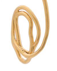 Ellery | Metallic Forbidden Fruit Gold-plated Earrings | Lyst