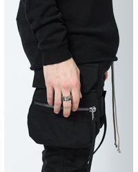 Tobias Wistisen | Metallic Broken Stone Edge Ring for Men | Lyst
