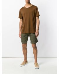 Massimo Alba - Green Striped Shorts for Men - Lyst