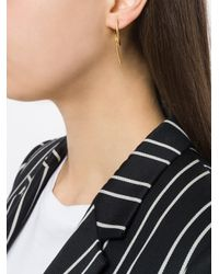 Wouters & Hendrix - Metallic Technofossils Loop Earrings - Lyst