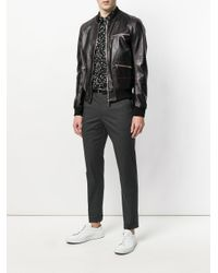 Dolce & Gabbana - Gray Tailored Trousers for Men - Lyst