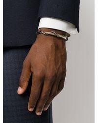 Alexander McQueen - Metallic Entwined Snake Bracelet for Men - Lyst