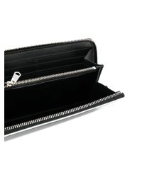 Givenchy - Black Graphic Long Wallet - Lyst