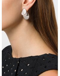 Charlotte Chesnais - Gray Drop Earrings - Lyst