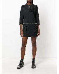 DSquared² - Black Cargo Pockets Dress - Lyst