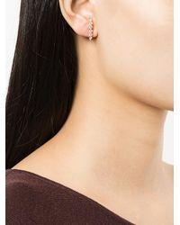 Anita Ko - Metallic Large Floating Diamond Earring - Lyst