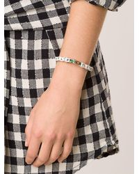 Venessa Arizaga - Green 'beach Please' Bracelet - Lyst