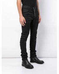 Boris Bidjan Saberi 11 - Black Skinny-fit Stretch Jeans for Men - Lyst