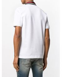 Gucci - White Poloshirt mit Web for Men - Lyst