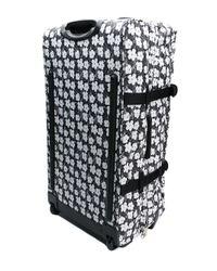 Eastpak - Black Floral Print Pull Bag - Lyst