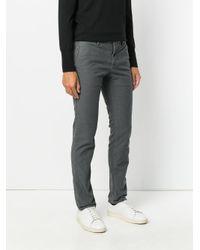 Incotex - Gray Straight-leg Jeans for Men - Lyst