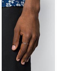 Maria Black Metallic Phoenix Mini Ring for men