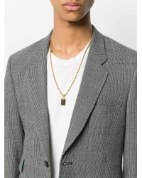 Dolce & Gabbana - Metallic Pendant Necklace for Men - Lyst