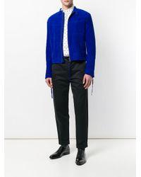 Haider Ackermann White Polka Dots Shirt for men