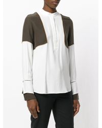 Antonia Zander - Multicolor Panelled Blouse - Lyst