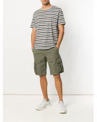 Woolrich - Green Cargo Shorts for Men - Lyst