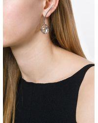 Lara Bohinc - Metallic 'planetaria' Asymmetric Earrings - Lyst