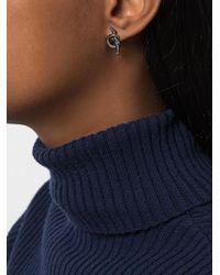 Eshvi - Gray Venus Earrings - Lyst