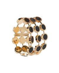 Jil Sander - Metallic Circle Bracelet - Lyst