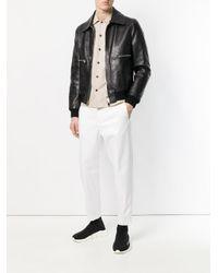 Neil Barrett - White Slim Trousers for Men - Lyst