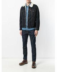 Levi's Blue Denim Shirt for men
