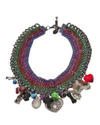 Venessa Arizaga - Multicolor 'candy Says' Necklace - Lyst