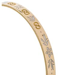 Gucci - Metallic Icon Bracelet In Yellow Gold - Lyst