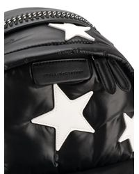 Stella McCartney - Black Falabella Go Stars Backpack - Lyst