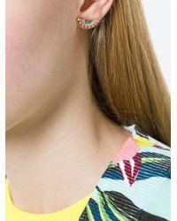 Ileana Makri - Metallic Sun Eye Earring - Lyst