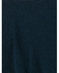 Yohji Yamamoto - Blue Longsleeved T-shirt for Men - Lyst