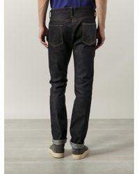 Simon Miller - Black Slim Fit Jeans for Men - Lyst