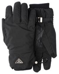 Prada - Black Handschuhe aus Funktionsstoff for Men - Lyst