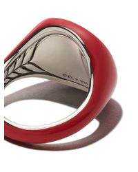 David Yurman - Red Cable Collectibles Collection Pinky Ring - Lyst