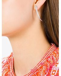 Shaun Leane - Metallic Signature Tusk Diamond Earrings - Lyst