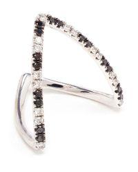 Yvonne Léon - Black Diamond 'vivianne' Ring - Lyst
