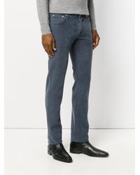 Jacob Cohen - Blue Textured Denim Jeans for Men - Lyst