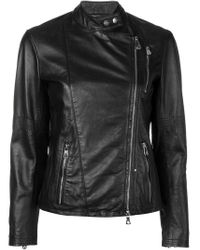 Peuterey - Black Double-breasted Jacket - Lyst