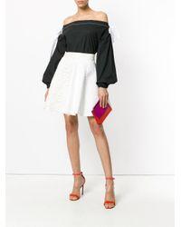 Fausto Puglisi - White Flared Mini Skirt - Lyst