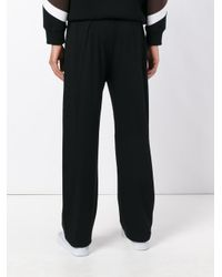 The White Briefs - Black Loose-fit Track Pants for Men - Lyst
