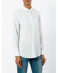 Equipment - Green Classic Shirt - Lyst
