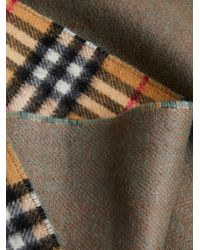 Burberry - Multicolor Double Faced Check Scarf - Lyst